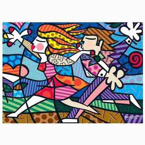 Imagem de Puzzle Grow 2000 Peças Romero Britto Love Blossoms