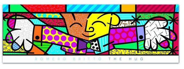 Imagem de Puzzle Romero Britto Panorama The Hug 500 Peças Grow