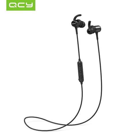 Imagem de QCY M1C Fone de Ouvido Bluetooth 5.0 IPX4 Preto Esportes