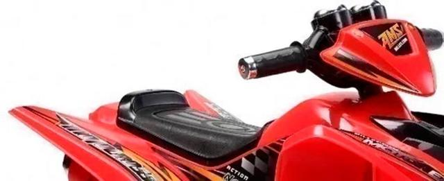 Imagem de Quadriciclo Elétrico Infantil 12v Vermelho