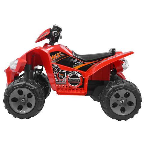 Imagem de Quadriciclo Elétrico Infantil à Bateria Vermelho BELFIX