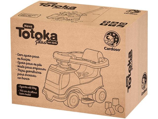 Imagem de Quadriciclo Infantil Eletrônica Totoka Plus Menino - Emite Sons Brinquedos Cardoso