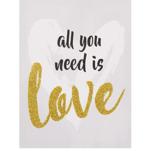 Imagem de Quadro All You Need is Love