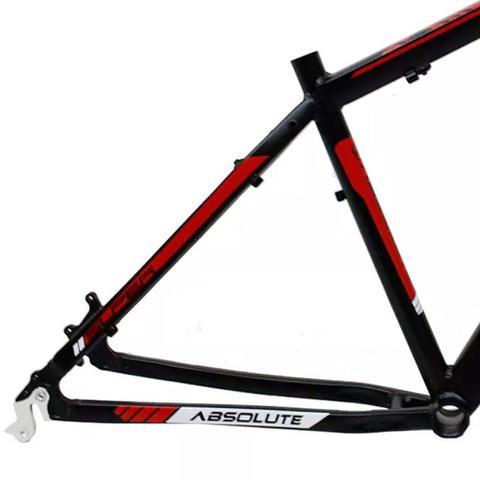 Imagem de Quadro Aro 29 Absolute Nero 2 Preto com Vermelho