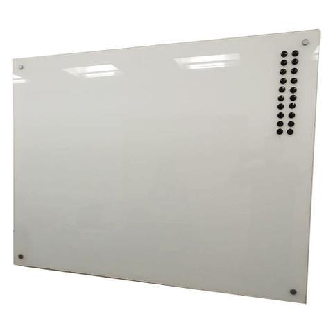 Imagem de Quadro de Vidro Magnético Branco 120x80