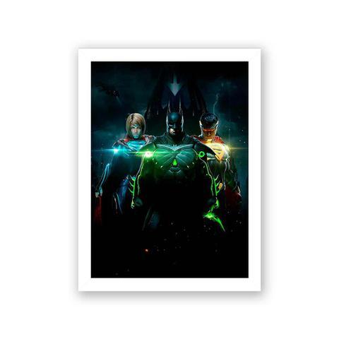 Imagem de Quadro Decorativo 27X36 Injustice II
