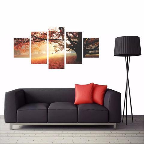 Imagem de Quadro Decorativo Arvore Paisagem Natureza 114x65