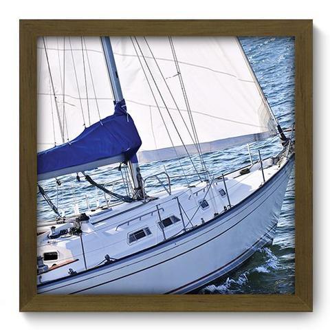 Imagem de Quadro Decorativo - Barco - 33cm x 33cm - 050qdkm