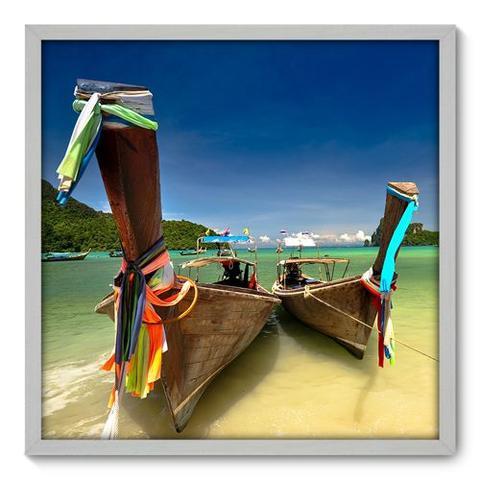 Imagem de Quadro Decorativo - Barco - 70cm x 70cm - 023qnpdb