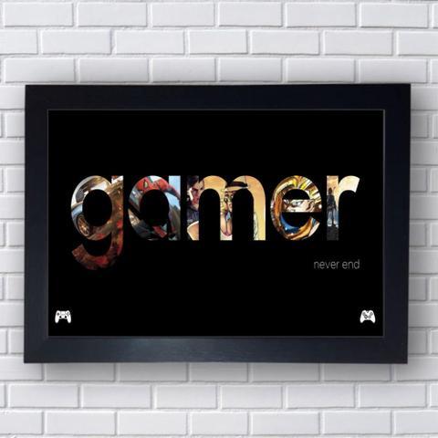 Imagem de Quadro Decorativo Gamer Mod 59 30x42cm