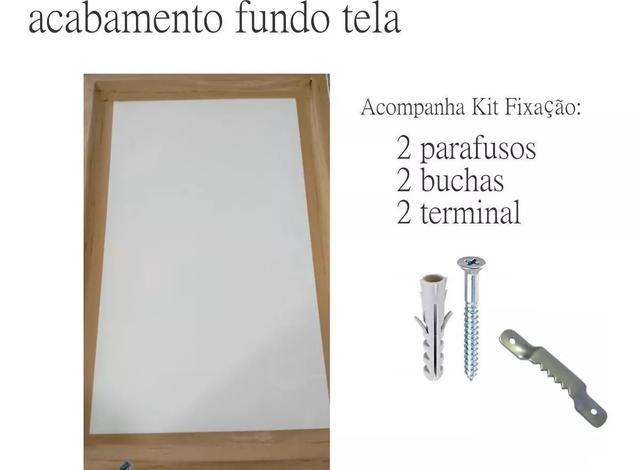 Imagem de Quadro Decorativo Paisagem Santa Ceia Em Canvas 60x40
