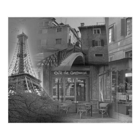 Imagem de Quadro Quadrado Paris 30 x 30 x 2,5 cm D164420