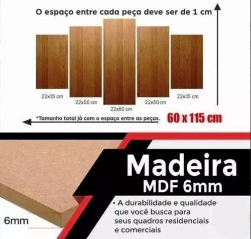 Imagem de Quadro Vingadores Decorativos Quarto E Sala Mosaico 5 Peças