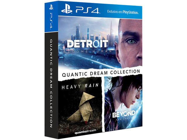 Jogo Quantic Dream Collection - Playstation 4 - Sieb