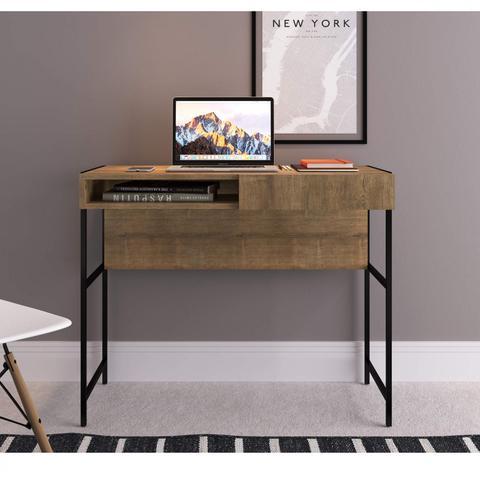 Imagem de Quarto com Closet, Escrivaninha e Rack para TV West Artesano Vermont