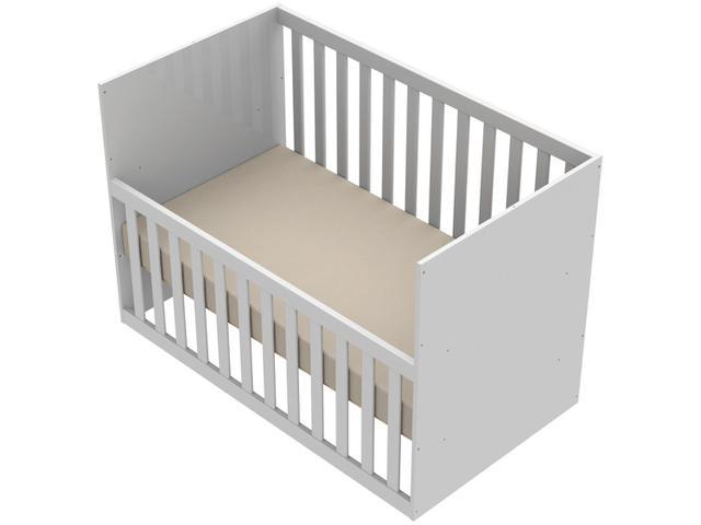 Imagem de Quarto de Bebê Completo com Berço + Guarda-Roupa