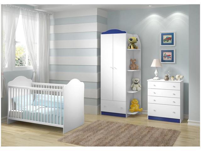 Imagem de Quarto de Bebê Completo Multimóveis Confete Luiza