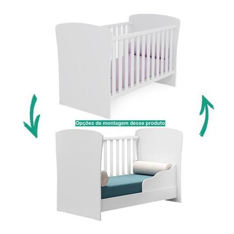 Imagem de Quarto Infantil 03 Peças Doce Sonho 2484X2617X2561 Branco Qmovi