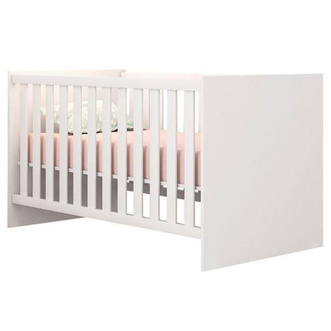 Imagem de Quarto Infantil Berço Mini Cama Americano Branco - Qmovi