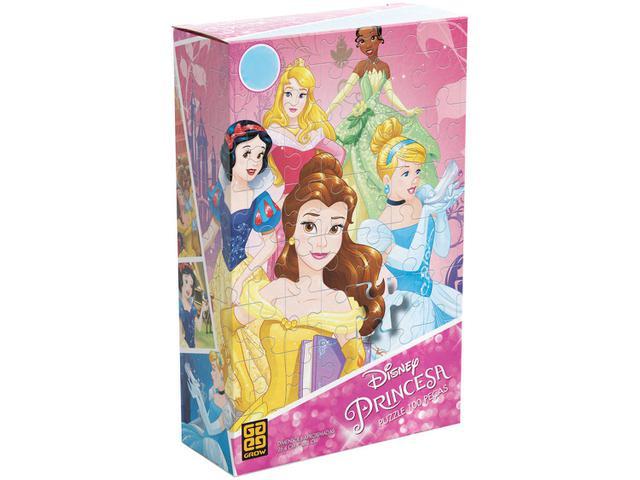 Imagem de Quebra-cabeça 100 Peças Disney Princesa