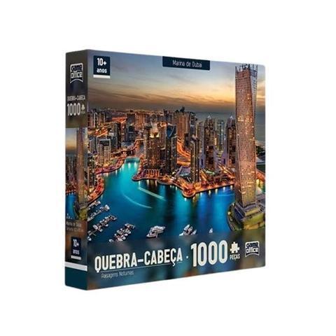 Imagem de Quebra Cabeça 1000 peças Marina de Dubai Toyster Puzzle
