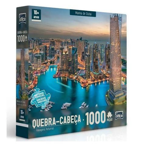 Imagem de Quebra Cabeça 1000 Peças Marina de Dubai - Toyster