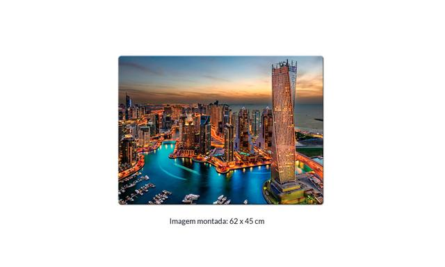 Imagem de Quebra Cabeça 1000 Peças Marina de Dubai Toyster