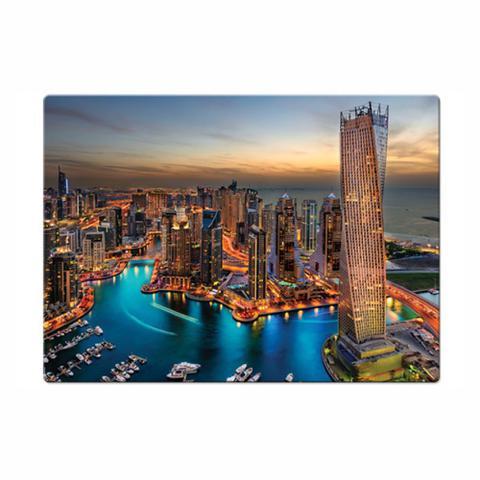 Imagem de Quebra-cabeça 1000 Peças Paisagens Noturnas Marina De Dubai