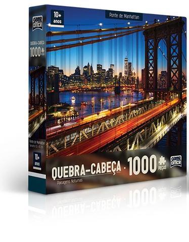 Imagem de Quebra-Cabeça 1000 Peças Ponte De Manhattan - Toyster