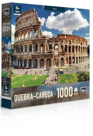 Imagem de Quebra-Cabeça 1000 Peças Roma - Toyster