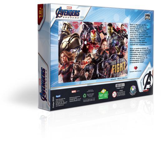 Imagem de Quebra-Cabeça 2000 Peças Os Vingadores: Ultimato - Toyster
