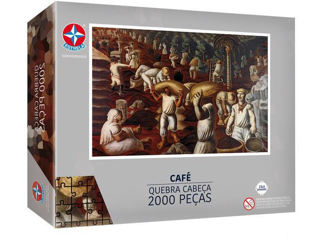 Imagem de Quebra-cabeça 2000 Peças Portinari