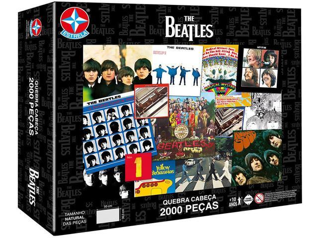 Imagem de Quebra-cabeça 2000 Peças The Beatles