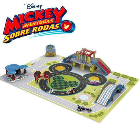 Imagem de Quebra Cabeça 3D Circuito Aventura Mickey Disney - Xalingo