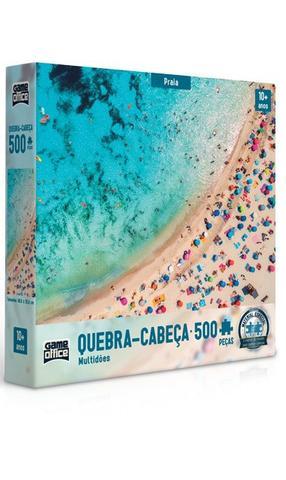 Imagem de Quebra-Cabeça 500 Peças Multidões - Praia - Toyster