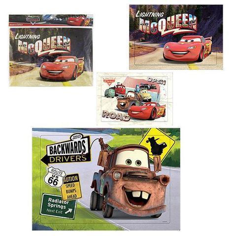 Imagem de Quebra Cabeça Carros 63 Peças Cars 37,5cm - 133569