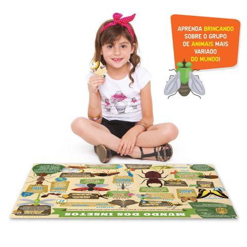 Imagem de Quebra-Cabeça - Explorando O Mundo Dos Insetos - 120 Peças - Toyster