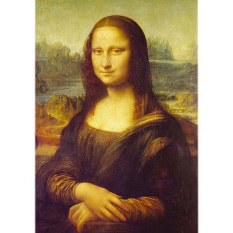 Imagem de Quebra-Cabeça Leonardo Da Vinci - Monalisa - 1000 peças - Grow