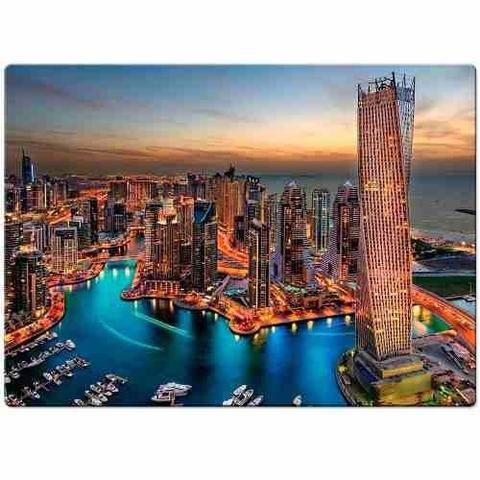 Imagem de Quebra Cabeça Marina de Dubai 1000 Peças Game Office