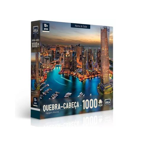 Imagem de Quebra-Cabeça - Marina de Dubai - 1000 peças - Toyster