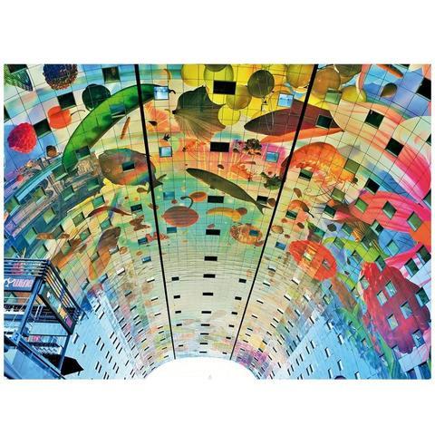Imagem de Quebra-Cabeça Market Hall Rotterdam 500 Pçs - Grow
