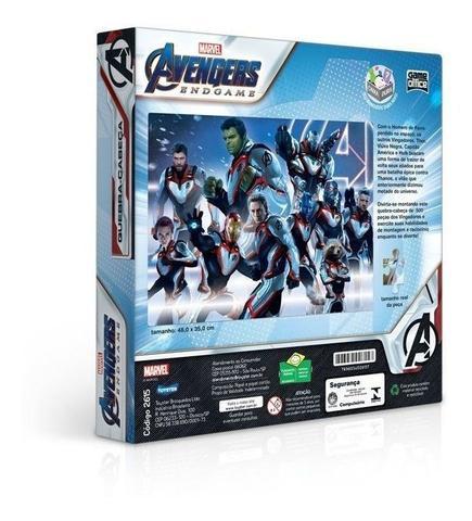 Imagem de Quebra Cabeça Os Vingadores Ultimato 500 Peças 002615 - Toyster