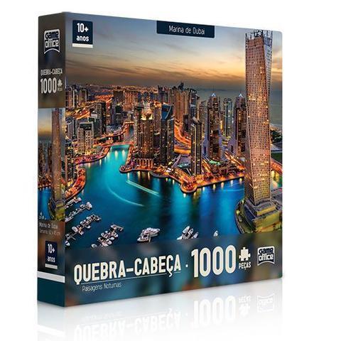 Imagem de Quebra-cabeça P1000 peças Paisagens Noturnas Marina De Dubai