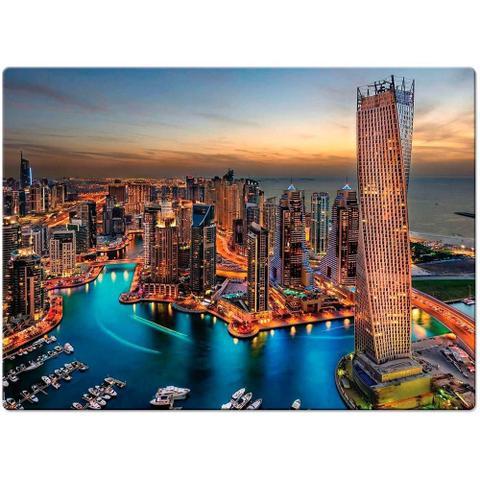 Imagem de Quebra-Cabeça Paisagens Noturnas - Marina De Dubai 1000 peças
