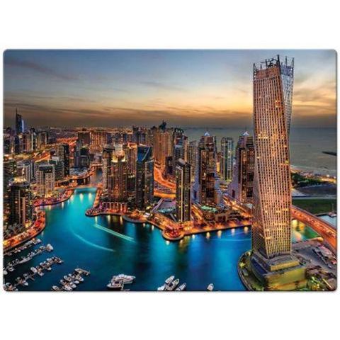 Imagem de Quebra Cabeça Paisagens Noturnas Marina De Dubai - Toyster