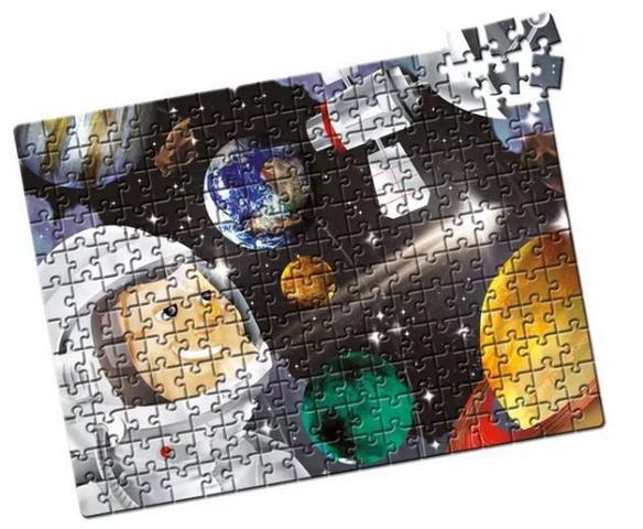 Imagem de Quebra Cabeça Sistema Solar Estrela - 200 peças