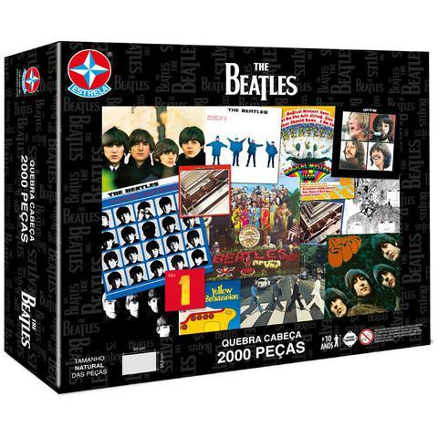Imagem de Quebra Cabeça The Beatles 2000Pçs - Estrela