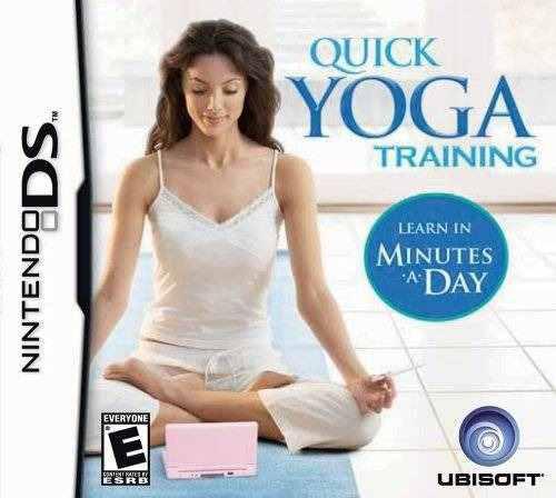 Jogo Quick Yoga Training - Nds - Ubisoft