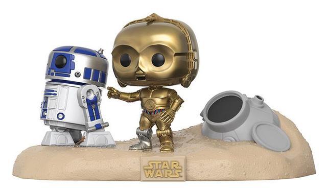 cd6bdf67c R2-D2 e C3PO - Pop! Movie Moments - Funko - 222 - Star Wars - Escape ...