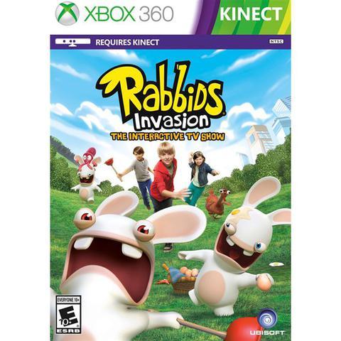 Imagem de Rabbids Invasion Kinect Game Infantil Para Xbox 360 Ubisoft